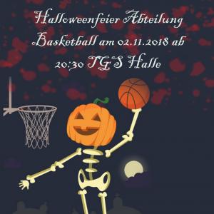 Halloweenparty Basketball @ TGS Halle | Seligenstadt | Hessen | Deutschland